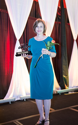 ACFW Carol Award 2013 - Dana Mentink