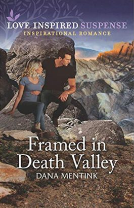 Framed in Death Valley by author Dana Mentink